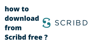 how to download from Scribd free