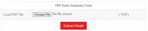 Upload a pdf file