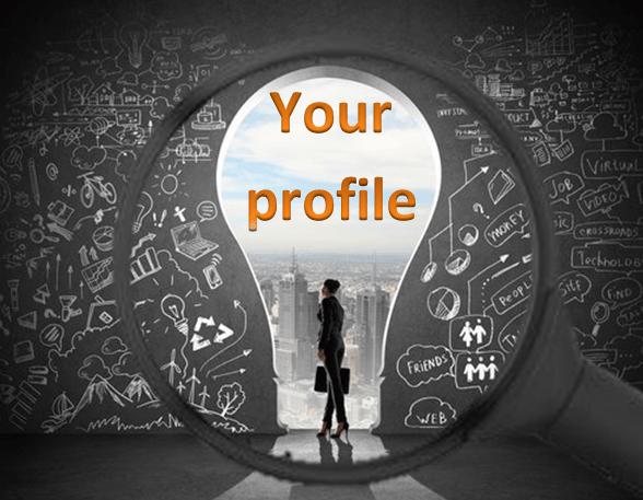 Make a discoverable profile