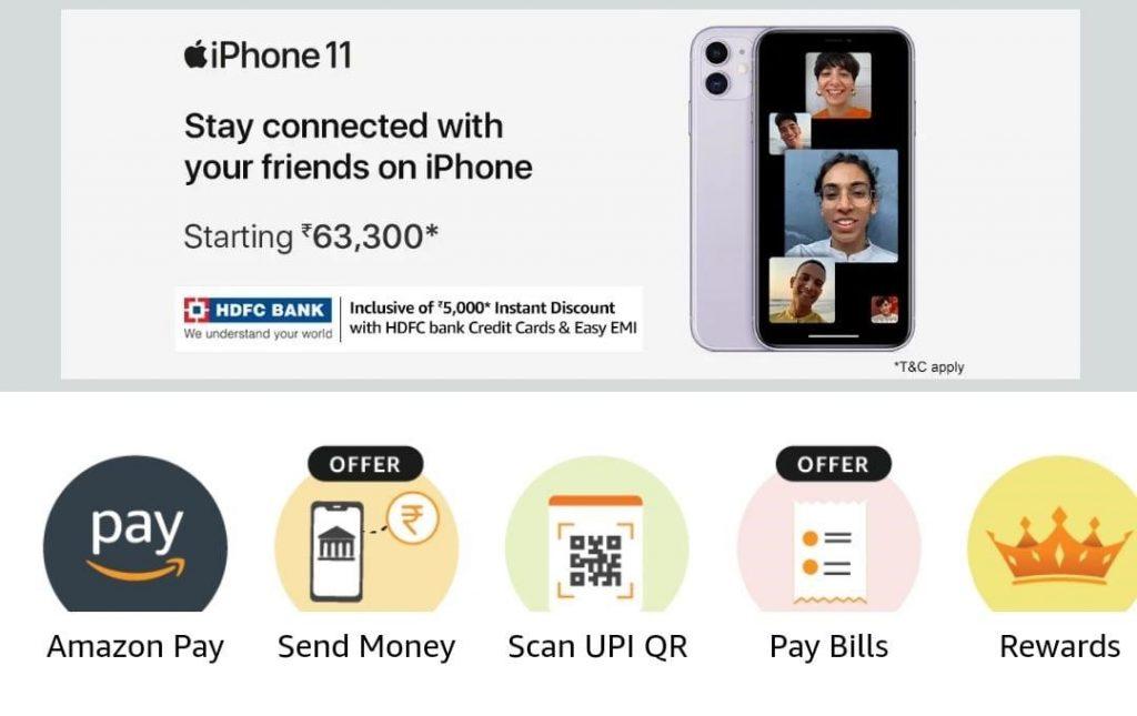 send money option