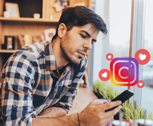 Instagram Conversation with girl