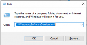 run software windows distributionlist