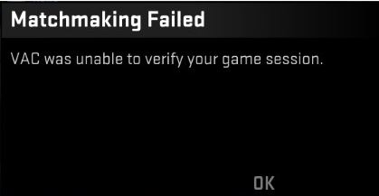 """How to Fix the Error of """"Vac Was Unable To Verify the Game Session"""""""