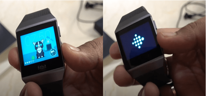 Fitbit iconic won't turn on