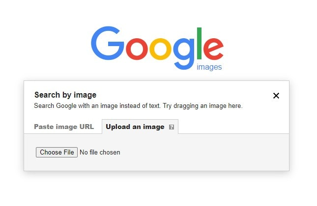 upload the search image in google images