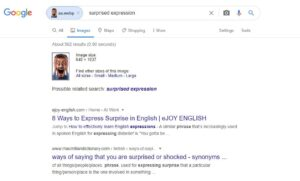 upload images similar search results in google
