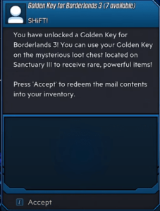 collect the golden keys