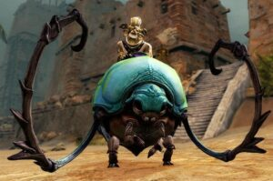 Unlock the mount -Roller Beetle