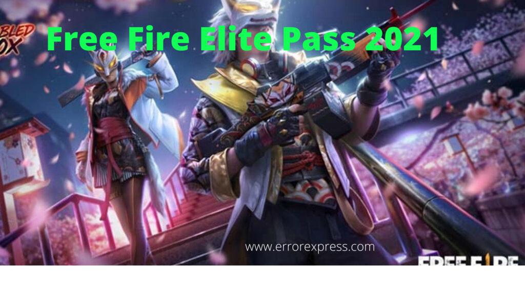 FREE FIRE ELITE PASS 2021