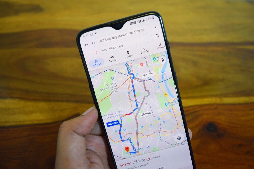 How to clear search history on google maps
