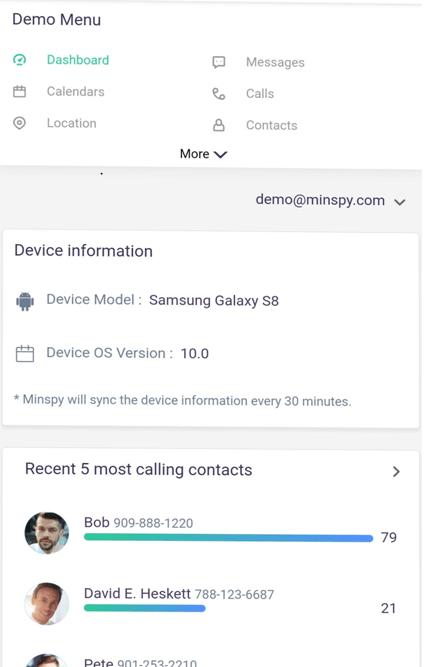 Minspy Spy App on Whats app