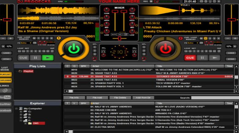 DJ ProDecks - Free DJ Software