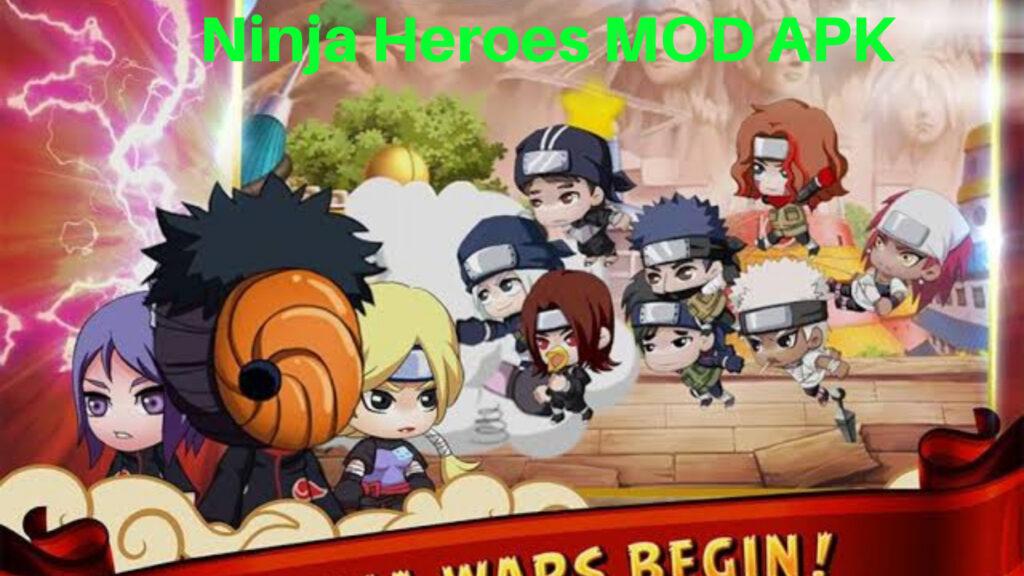 Ninja Heroes MOD APK Unlimited Everything | Latest Version