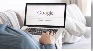 Find profile using google search