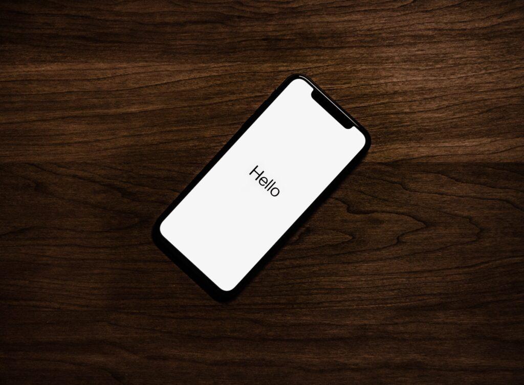 SMARTPHONE PHOTO WHEN RESTARTING