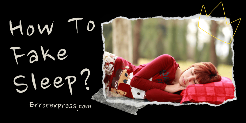 How to Fake Sleep Learn With 7 Tips and Warnings