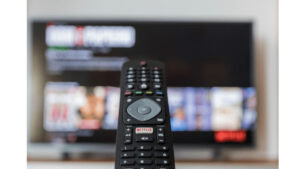 A Picture Depicts to change input on tv without remote, remote isn't working
