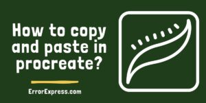 To Learn How to copy and paste in procreate