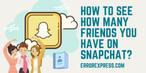 How to see how many friends you have on Snapchat