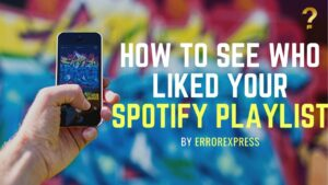 To Learn How to See Who Liked Your Playlist on Spotify