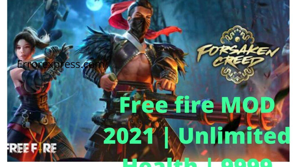 Download Free Fire MOD 2021 Unlimited Health Hack/Diamonds   Working