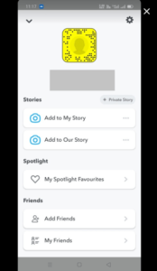 Open the SnapChat Application on Phone