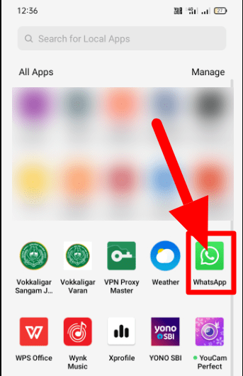 Whatsapp Android Icon