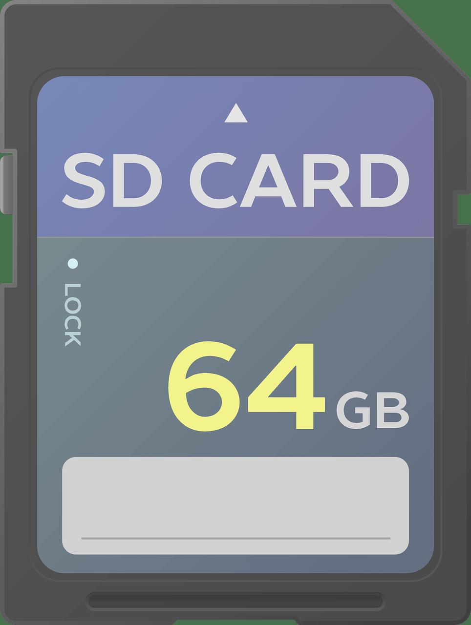 SD Card 64Gb Image