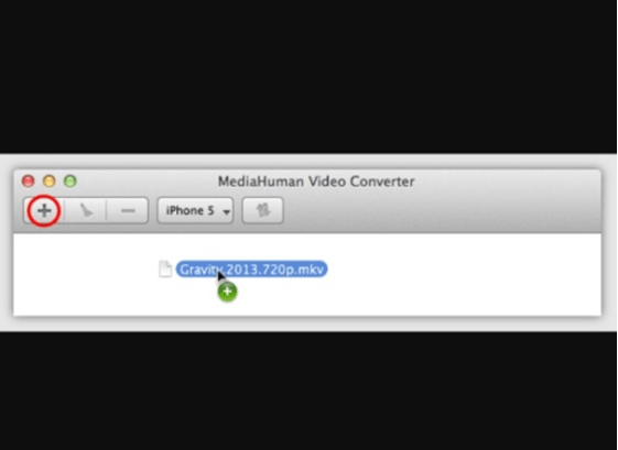 Video Drag option