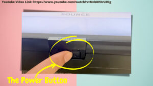 Use power button to turn on Samsung tv (without remote)