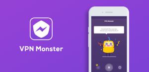 VPN Monster Application Screen