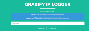 Tracking information in Grabify IP Logger