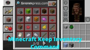 How to Keep Minecraft Inventory Command After Death   2021 Full Guide