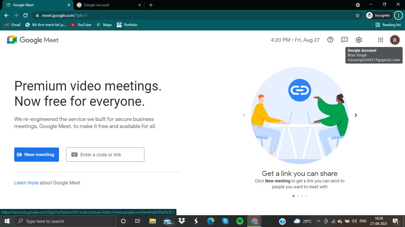 google profile image icon