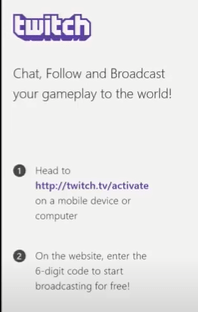 Twitch Tv Activation Page