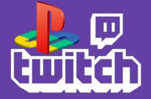 Twitch TV PlayStation Logo