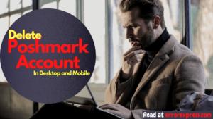 How to delete poshmark account