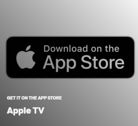 AppStore Apple TV Logo