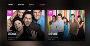 TNTDRAMA.COM TV Shows screen
